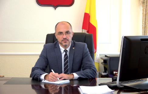 Министр сельского хозяйства и продовольствия Рязанской области Дмитрий Игоревич Филиппов