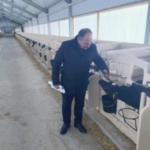 Борис Шемякин осмотрел «телячью деревню» нового молочного комплекса в Спасском районе